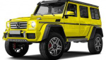 Mercedes-Benz G550 4x4 Squared tire size