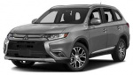 Mitsubishi Outlander rims and wheels photo