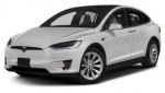 Tesla Model X tire size