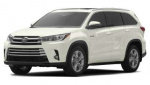 Toyota Highlander Hybrid rims and wheels photo