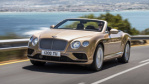 Bentley Continental GTC tire size