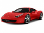 Ferrari 458 Italia rims and wheels photo
