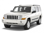 Jeep  Commander tire size