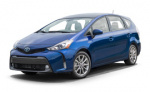 Toyota Prius v rims and wheels photo