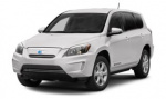Toyota RAV4 EV rims and wheels photo