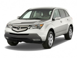 Acura Mdx Curb Weight By Years And Trims