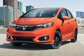 Honda Fit Curb Weight by Years and Trims