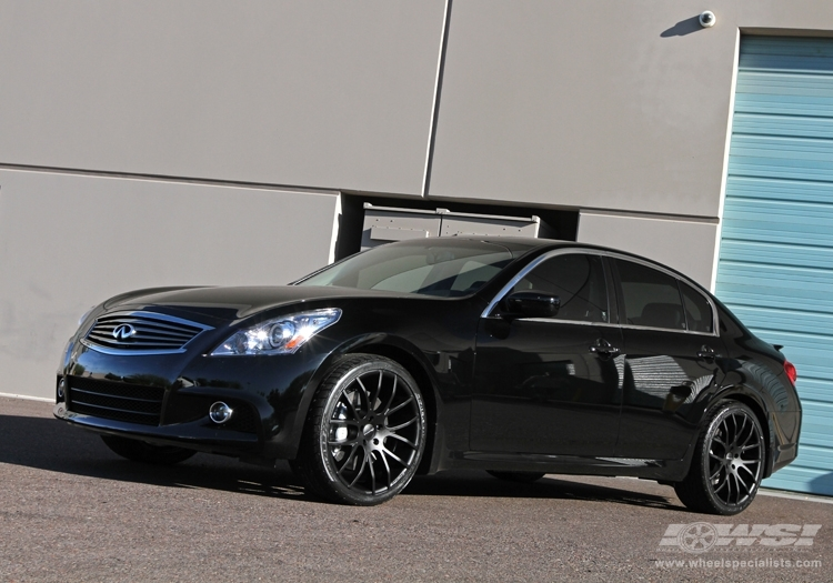 infiniti g37 custom wheels giovanna kilis 20x et tire. Black Bedroom Furniture Sets. Home Design Ideas