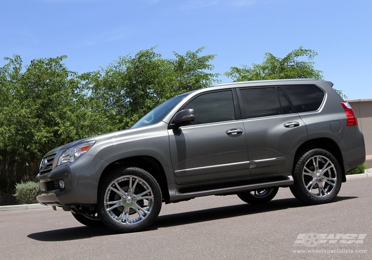 lexus gx 460 custom wheels lexani lx 12 22x et tire. Black Bedroom Furniture Sets. Home Design Ideas