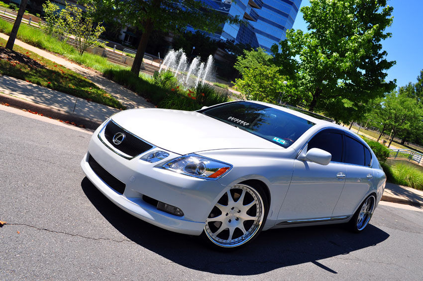 lexus gs 350 custom wheels d2 forged vs7 20x9 0 et 34. Black Bedroom Furniture Sets. Home Design Ideas