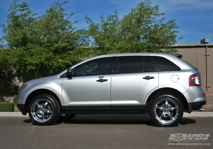 Ford Edge Custom Wheels Enkei Ls 5 20x Et Tire Size R20 X Et