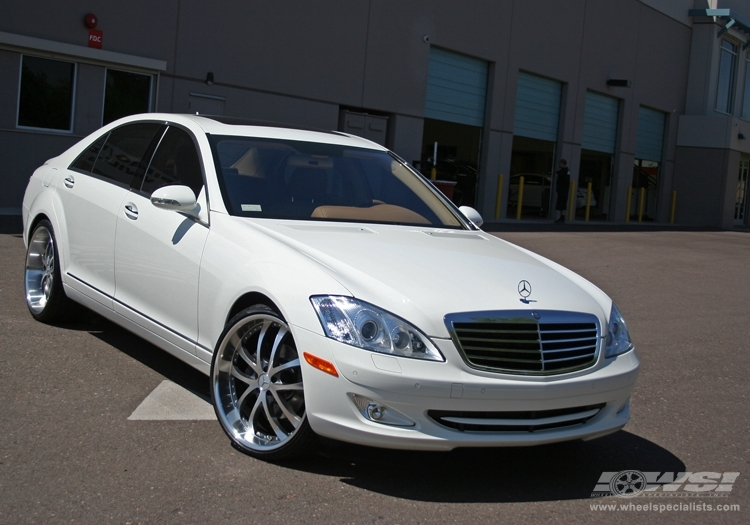 Mercedes benz s class custom wheels axis exe convex 22x for Mercedes benz tire sizes