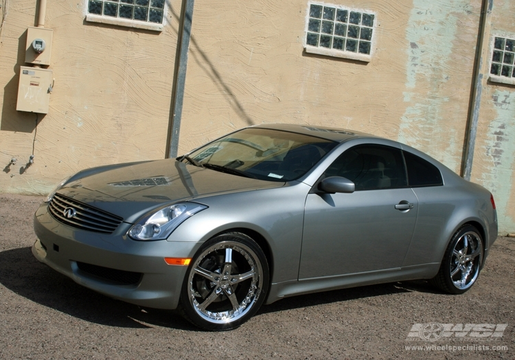 infiniti g35 custom wheels giovanna spezia 5 20x et. Black Bedroom Furniture Sets. Home Design Ideas
