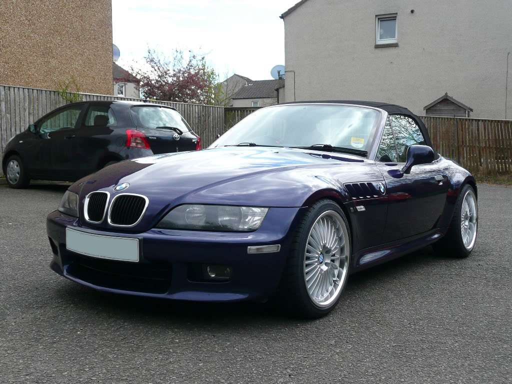 Bmw Z3 Custom Wheels Beyern Multi 18x8 5 Et 30 Tire