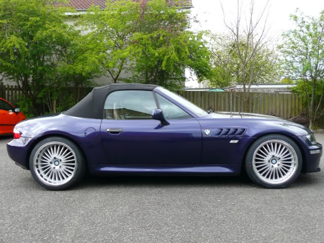 Bmw Z3 Custom Wheels Beyern Multi 18x8 5 Et 30 Tire Size 225 40 R18 18x9 5 Et 35 255 35 R18