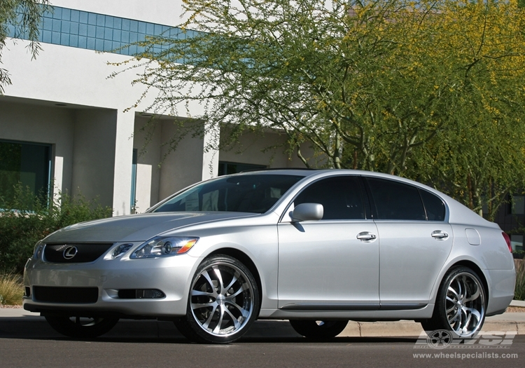 lexus gs 350 custom wheels axis exe convex 20x et tire size r20 x et. Black Bedroom Furniture Sets. Home Design Ideas