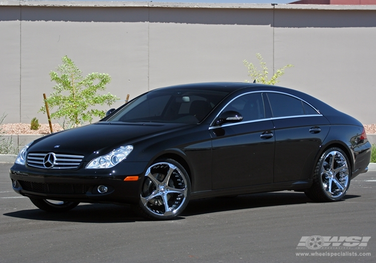 Mercedes benz cls class custom wheels giovanna dalar 5 20x for Mercedes benz tire sizes