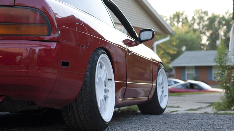 photo 1 Nissan S13 custom wheels   17x9.5, ET +18, tire size 225/45 R17. 17x10.0 ET+18 235/40 R17