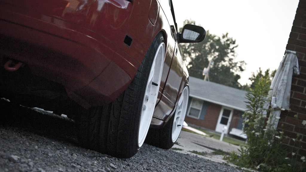 photo 2 Nissan S13 custom wheels   17x9.5, ET +18, tire size 225/45 R17. 17x10.0 ET+18 235/40 R17