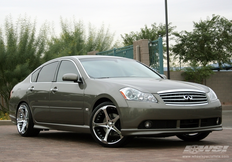 Infiniti M45 Custom Wheels Rays Engineering Lexion 401 20x85 Et