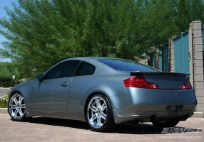 infiniti g35 custom wheels giovanna spezia 5 20x et tire size r20 x et. Black Bedroom Furniture Sets. Home Design Ideas
