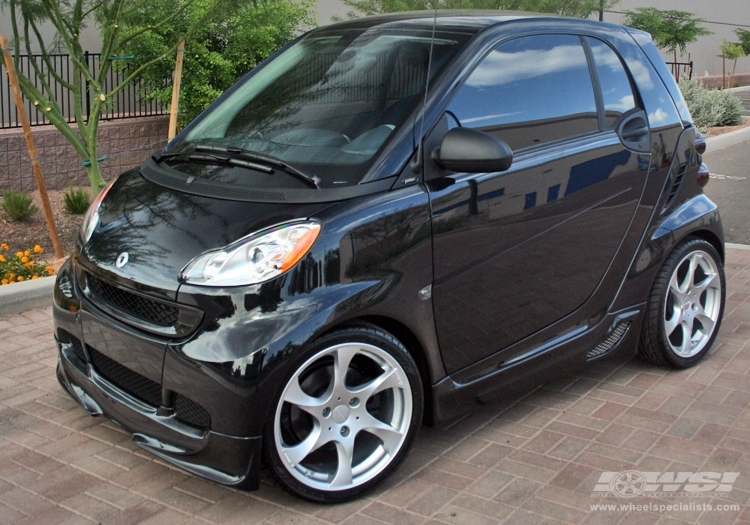 Smart Fortwo Custom Wheels Lorinser Sdy 17x Et Tire Size R17