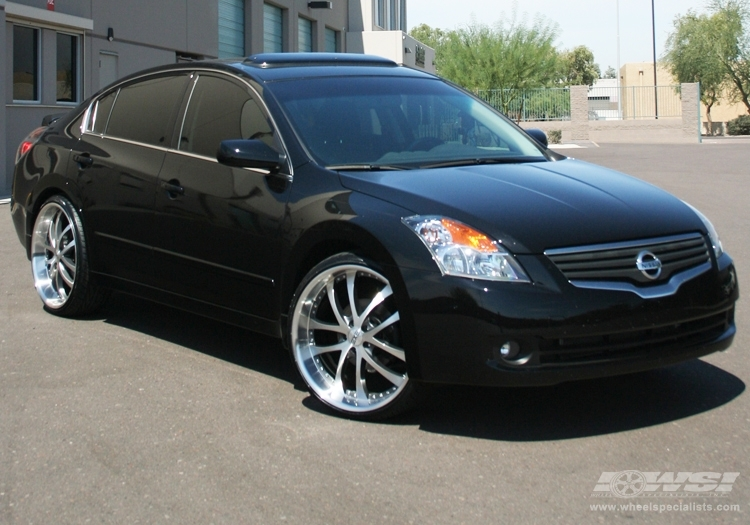 Nissan Altima Custom Wheels Axis Exe 22x Et Tire Size