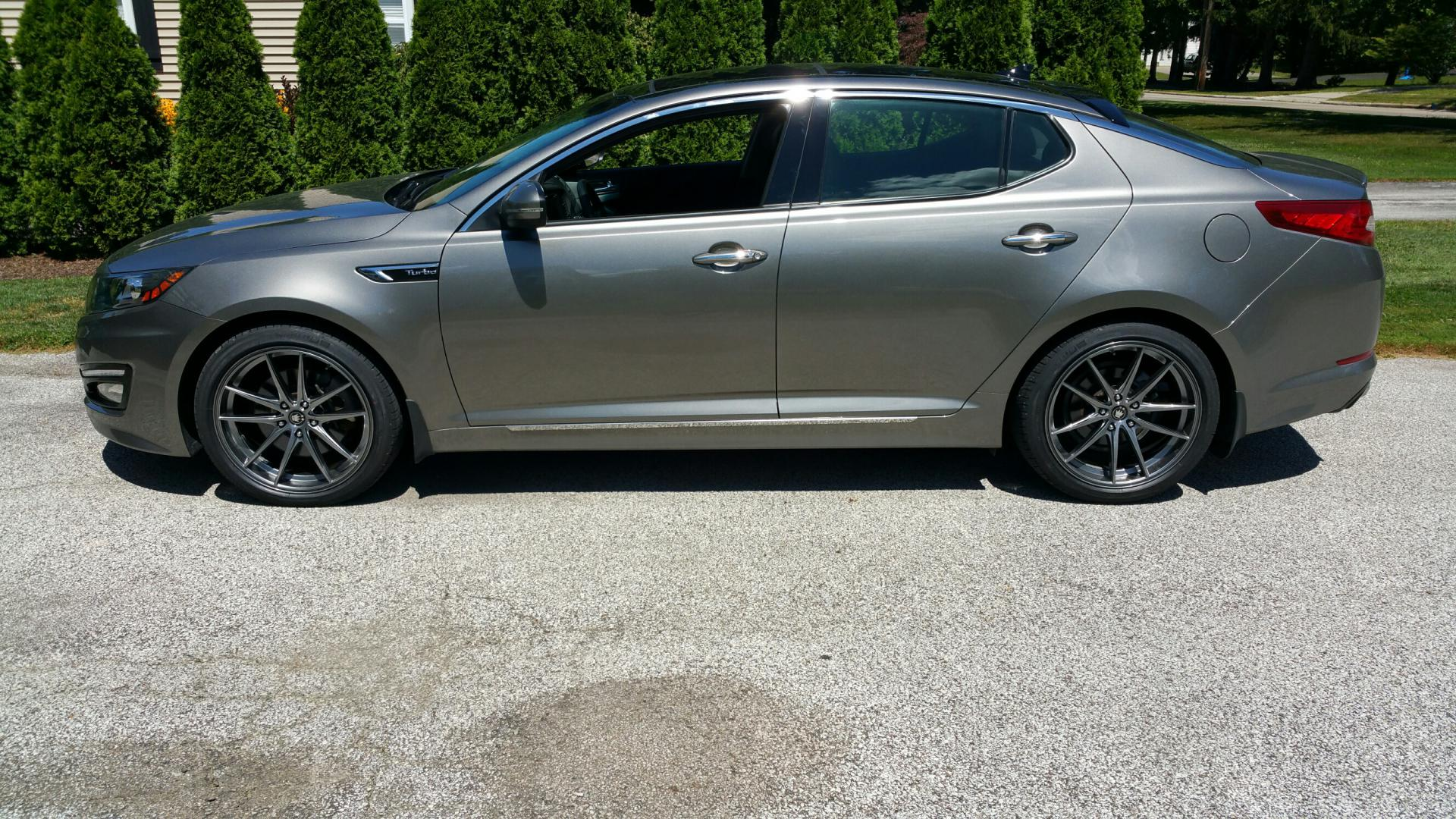 2012 Kia Optima Custom >> Kia Optima custom wheels Konig Oversteer 19x8.5, ET +45, tire size 235/40 R19. x ET