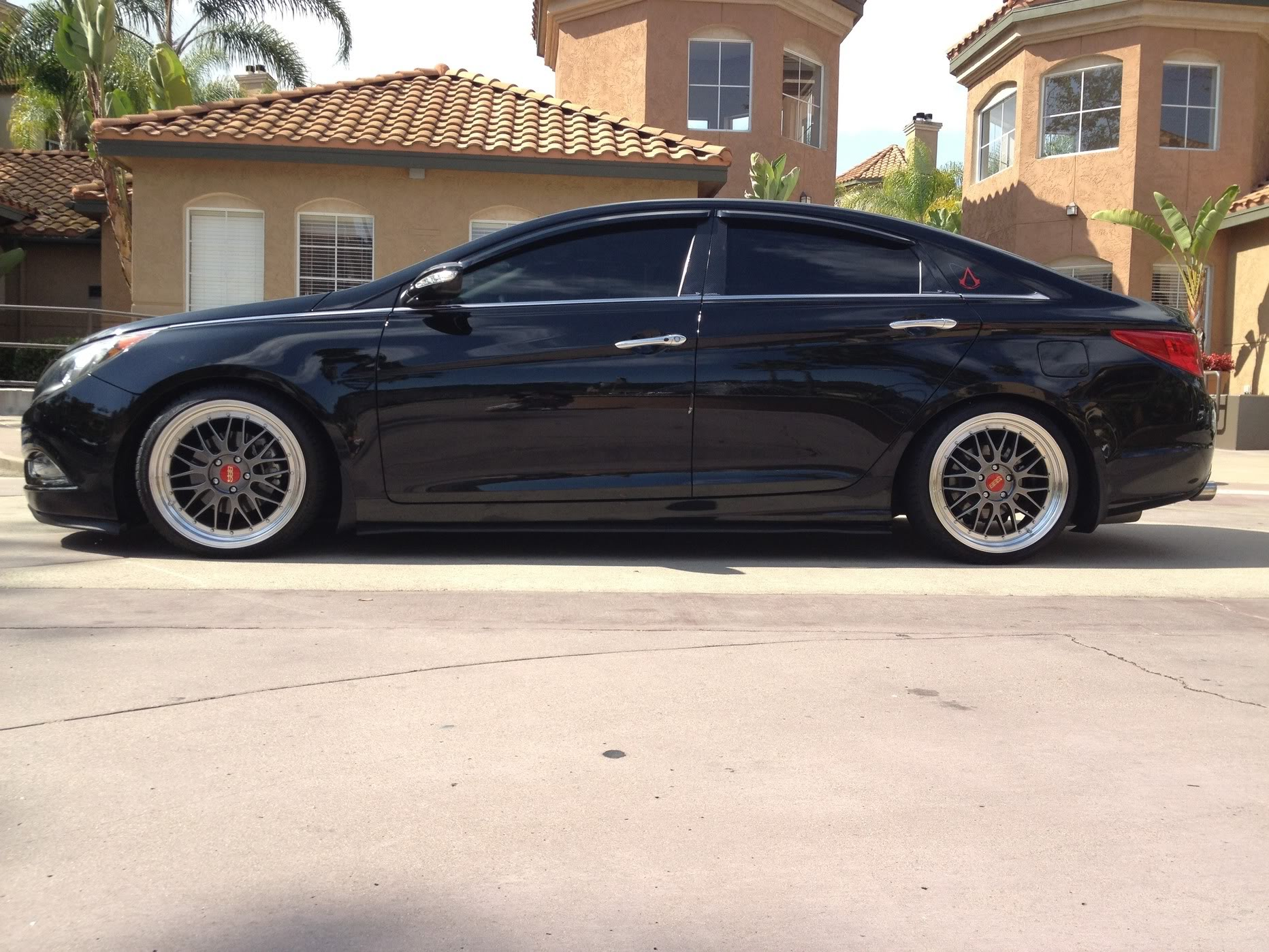 Hyundai Sonata Custom Wheels Bbs Lm 19x8 5 Et 35 Tire