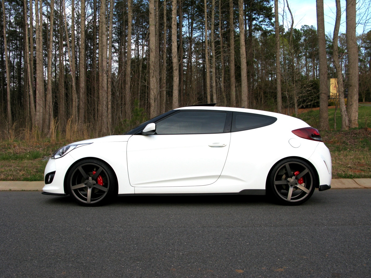 hyundai veloster custom wheels vossen cv3 19x8 5 et 32. Black Bedroom Furniture Sets. Home Design Ideas
