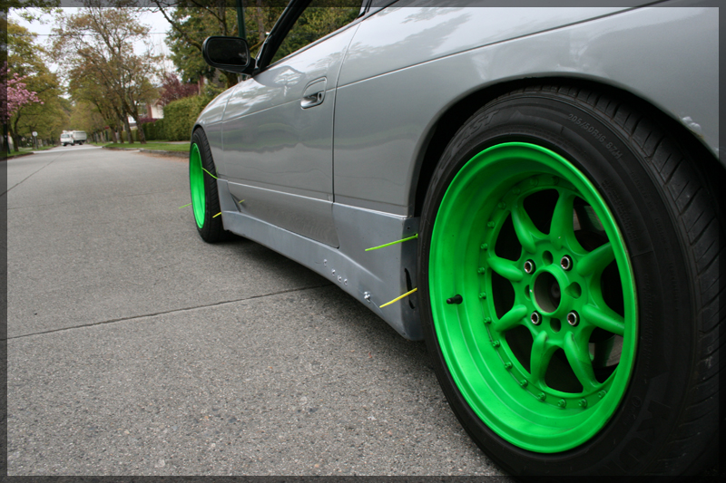 photo 2 Nissan S13 custom wheels Sportmax 002 16x8.0, ET 0, tire size 205/50 R16. x ET 205/50 R