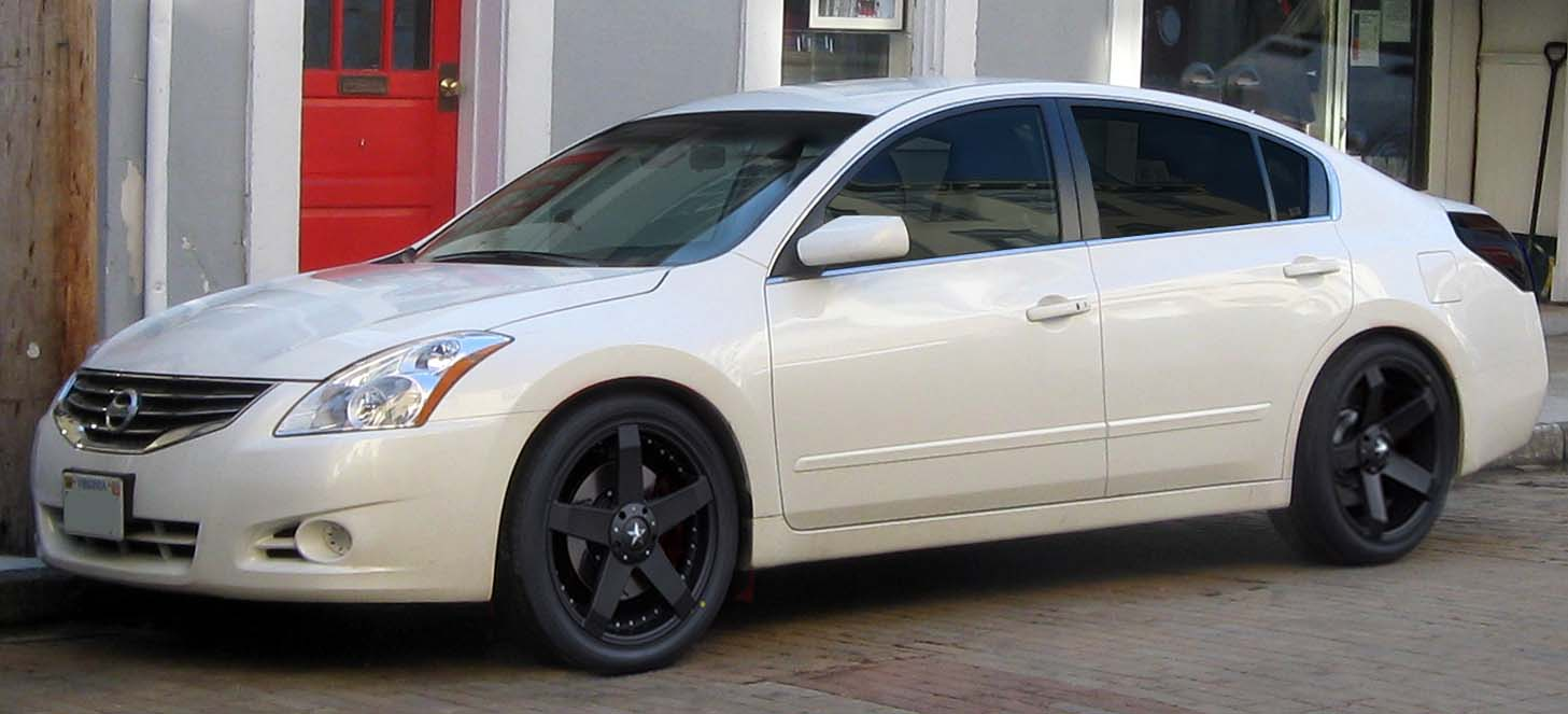 Attractive Custom Wheels U0026 Tires For Nissan Altima