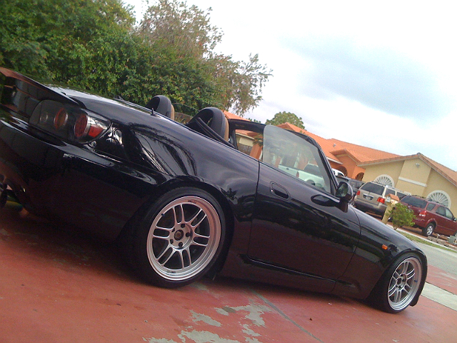 photo 2 Honda  S2000 custom wheels Enkei RPF1 17x9.0, ET +45, tire size 225/35 R17. 17x9.5 ET+38 245/35 R17