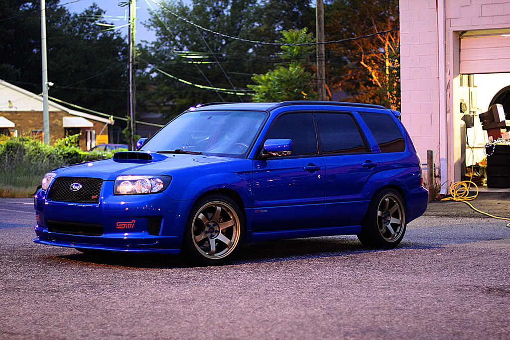 Subaru Forester custom wheels Rota Grid 18x9.5, ET , tire ...