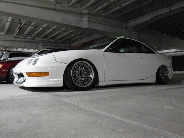 Acura Integra Custom Wheels SSR Reverse Mesh X ET Tire - Acura integra tire size
