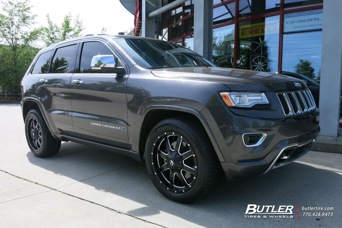 Jeep Grand Cherokee custom wheels Fuel Mevrick 20x, ET ...