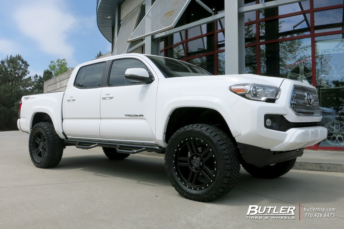 toyota tacoma custom wheels black rhino mojave 20x et. Black Bedroom Furniture Sets. Home Design Ideas