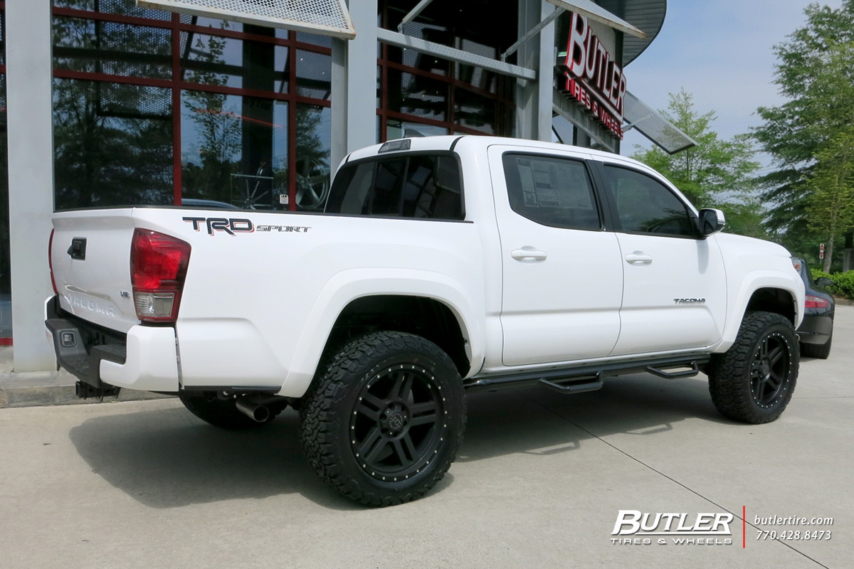 toyota tacoma custom wheels black rhino mojave 20x et tire size r20 x et. Black Bedroom Furniture Sets. Home Design Ideas