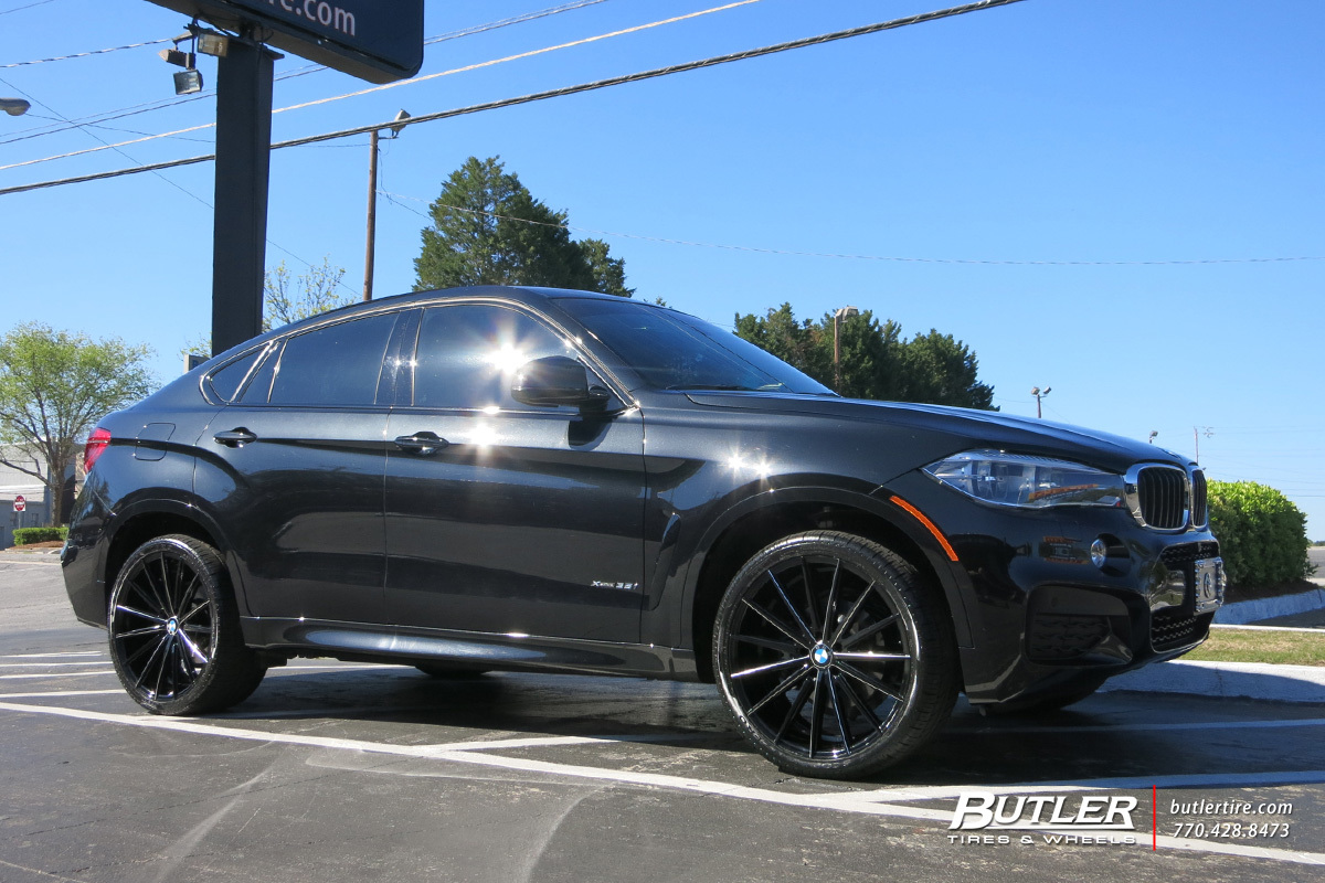 Bmw X6 Custom Wheels Lexani Pegasus 22x Et Tire Size