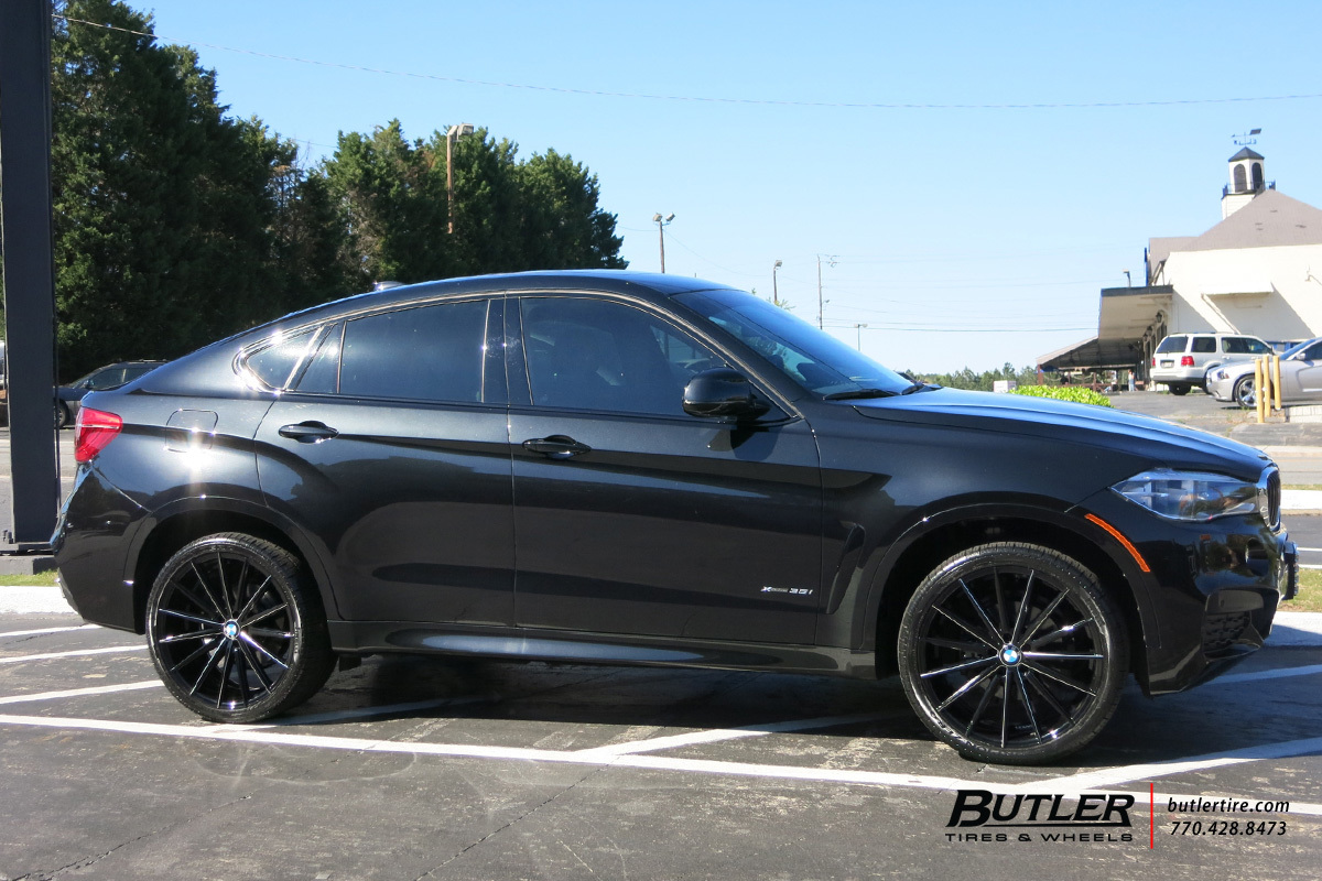 BMW X6 custom wheels Lexani Pegasus 22x, ET , tire size ...