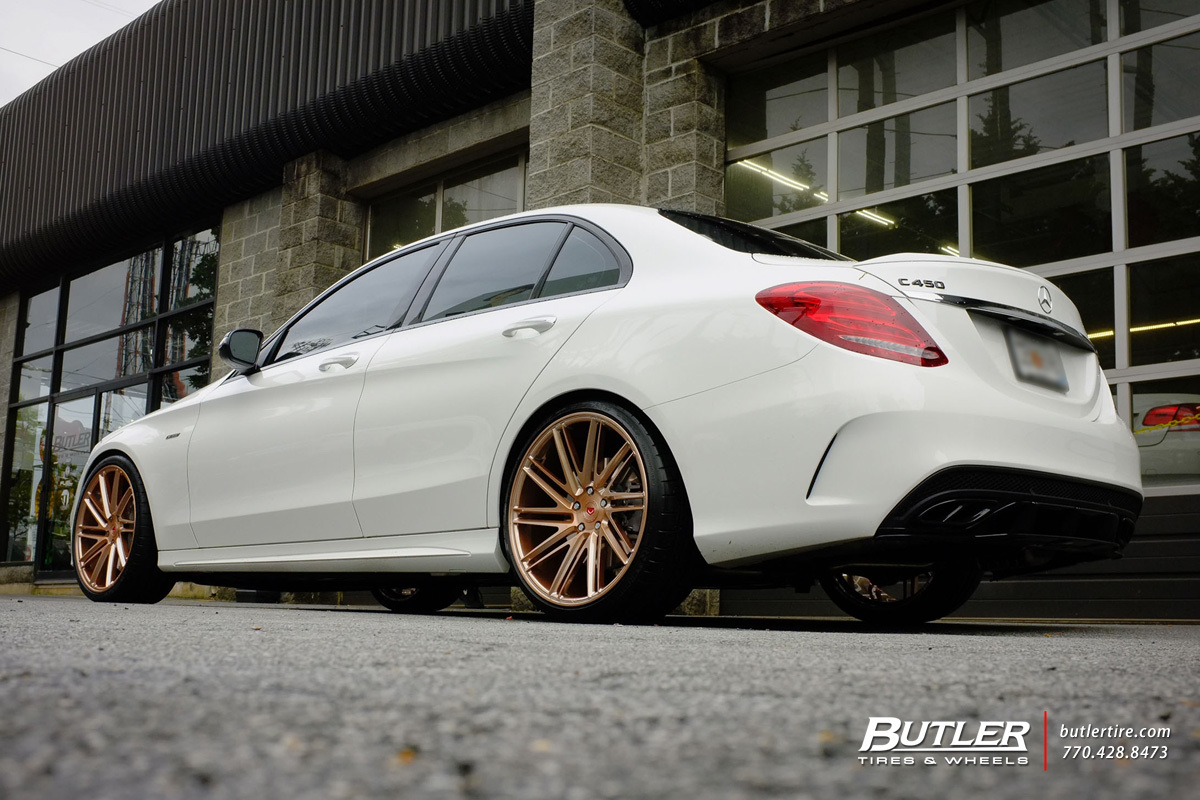 Mercedes benz c class custom wheels vossen vps 307t 20x for Mercedes benz c300 rims