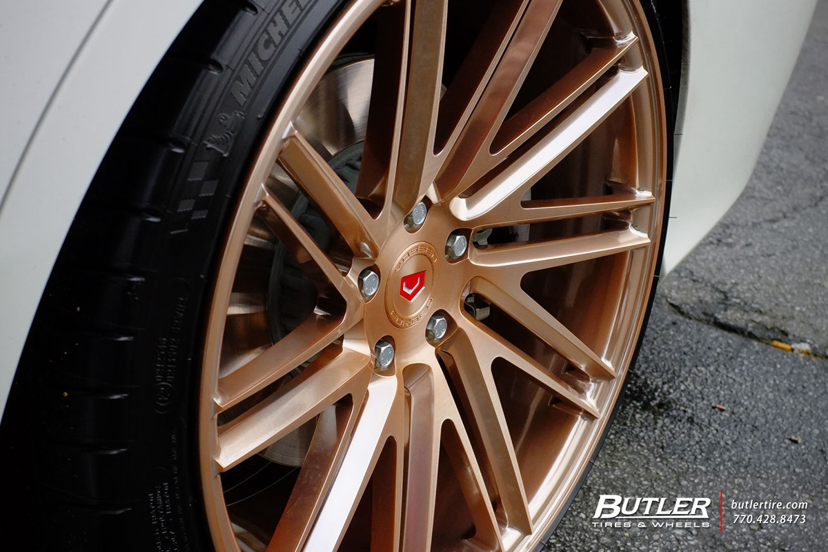 Mercedes benz c class custom wheels vossen vps 307t 20x for Mercedes benz tire sizes
