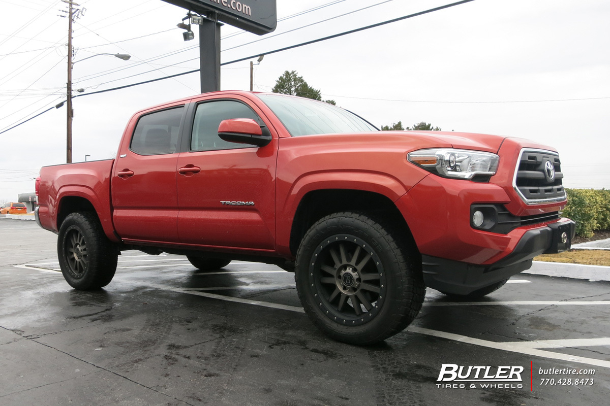 toyota tacoma custom wheels black rhino tanay 20x et. Black Bedroom Furniture Sets. Home Design Ideas