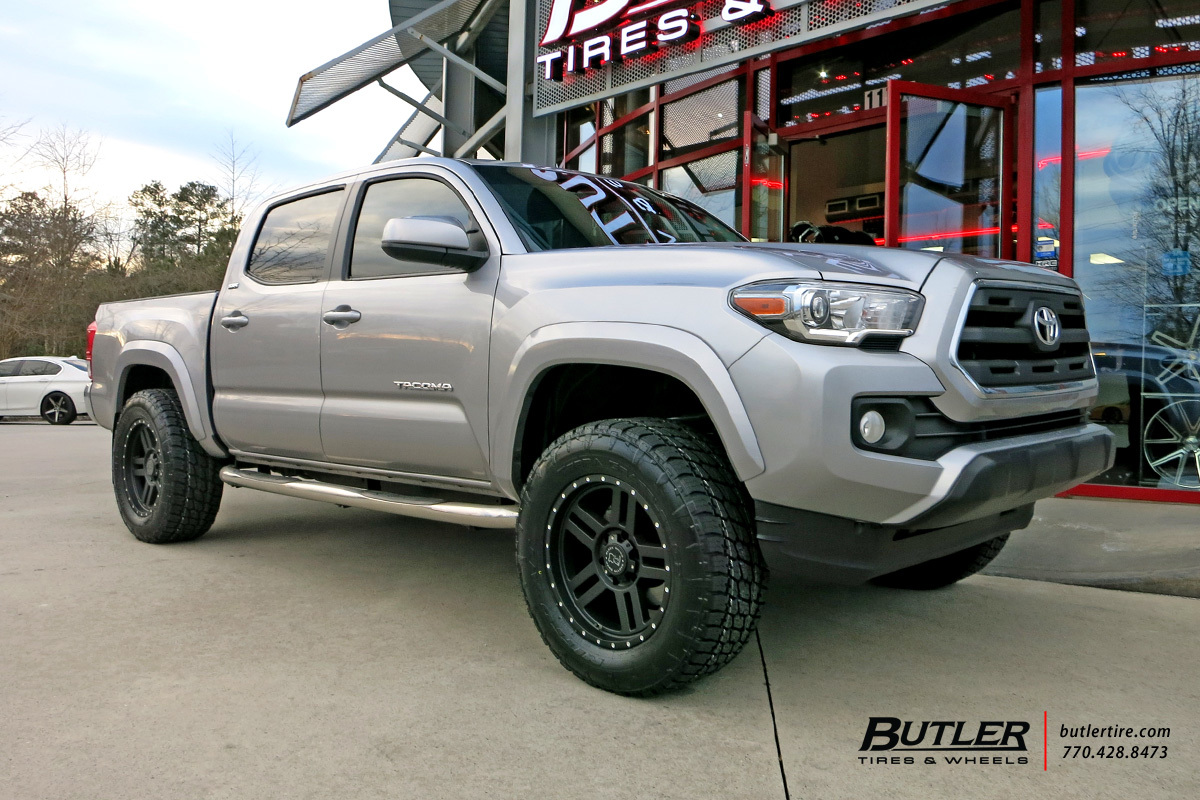 Photo 1 Toyota Tacoma Custom Wheels Black Rhino Mojave 18x, ET , Tire Size  ...