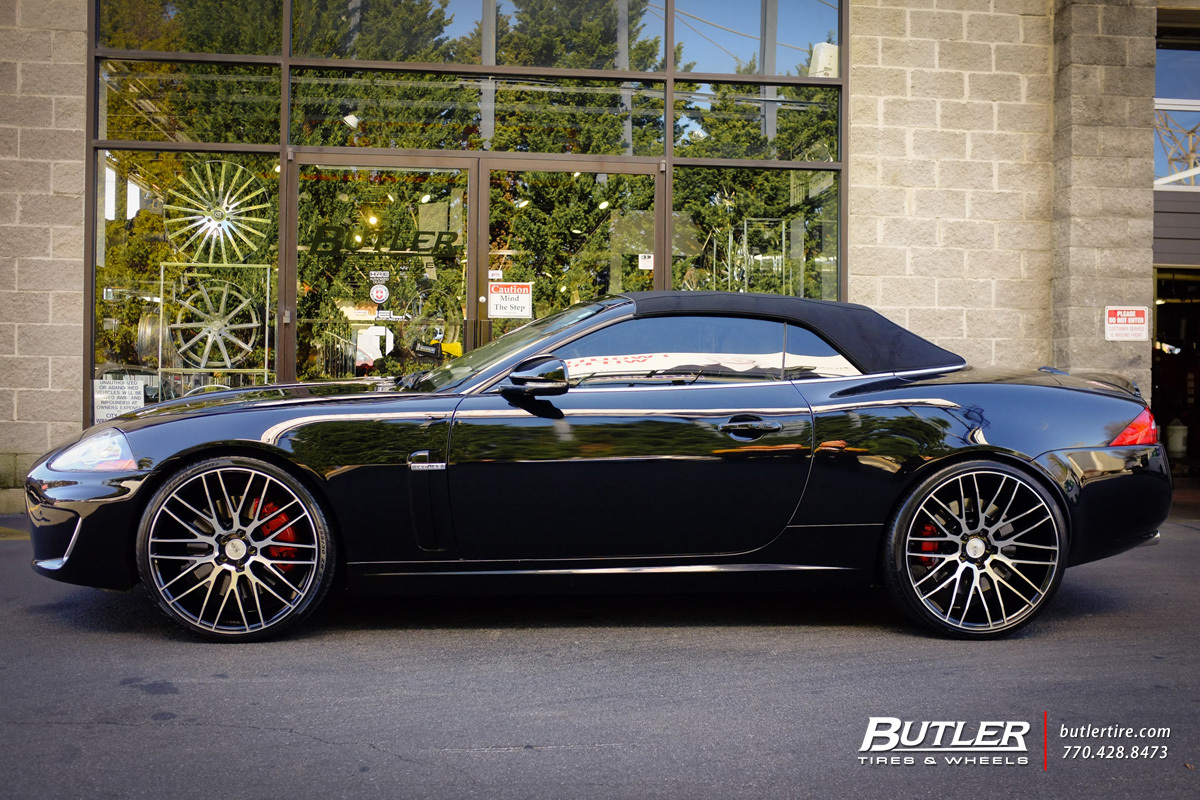 Jaguar Xkr Custom Wheels Savini Bm13 22x Et Tire Size