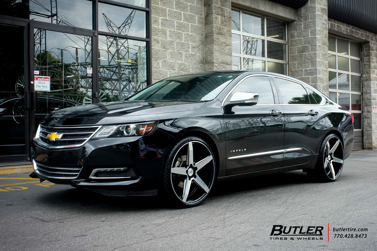 Chevrolet Impala Custom Wheels Savini Bm11 22x Et Tire