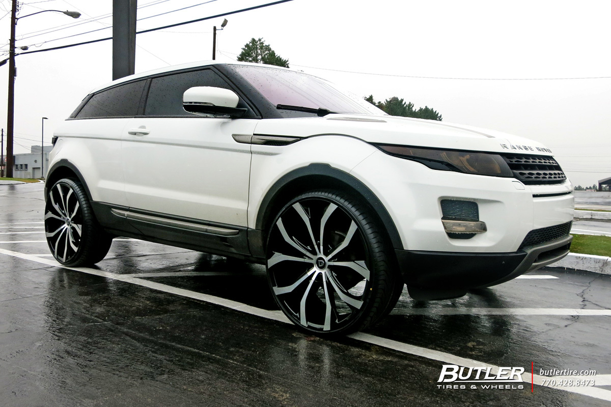 land rover range rover evoque custom wheels lexani lust 24x et tire size r24 x et. Black Bedroom Furniture Sets. Home Design Ideas