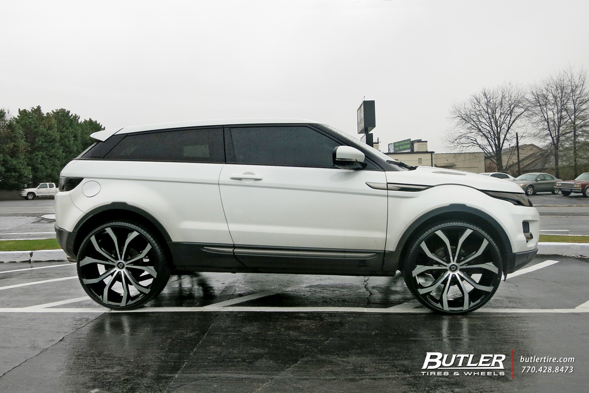 Land Rover Range Rover Evoque Custom Wheels Lexani Lust 24x Et
