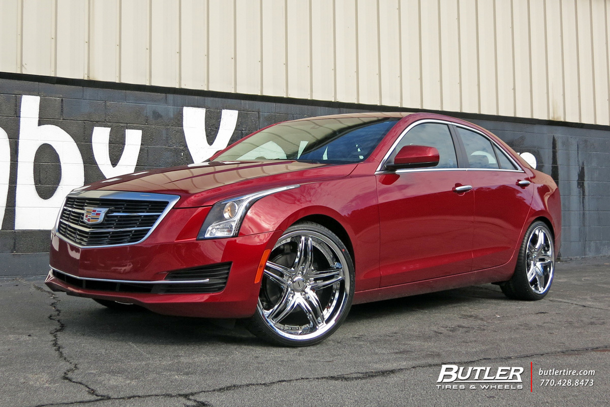 cadillac ats custom wheels status haze 20x et tire size r20 x et. Black Bedroom Furniture Sets. Home Design Ideas