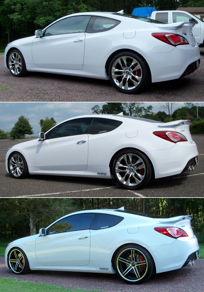 hyundai genesis coupe custom wheels lorenzo wl197 20x9 0. Black Bedroom Furniture Sets. Home Design Ideas